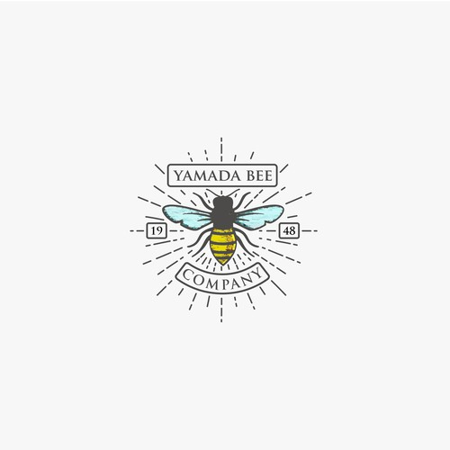logo concept for yamada bee