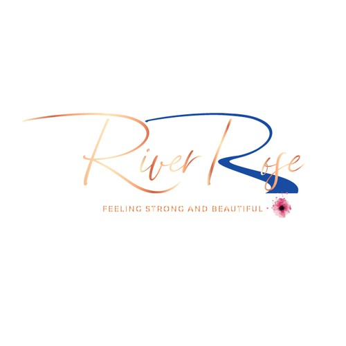 Logo concept for angelica riverrose.