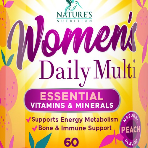 Bold label for Women's Supplement