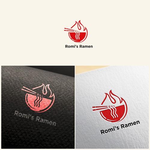 Ramen Noodle Shop Logo