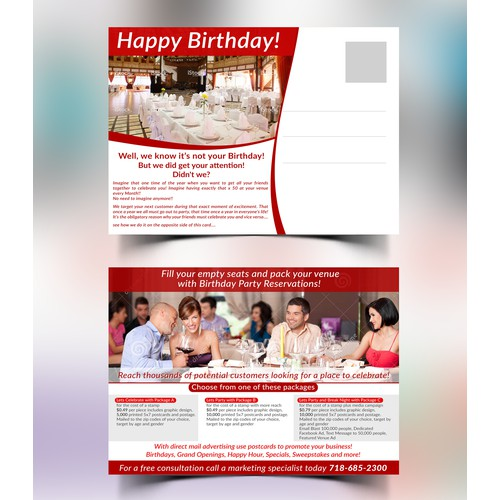 Direct Mail Campaign A