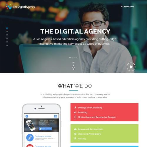 Digital Webpage