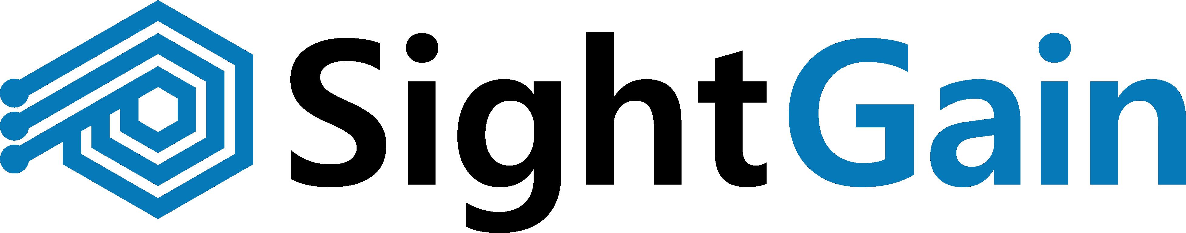 Sight Gain Company Logo and Branding