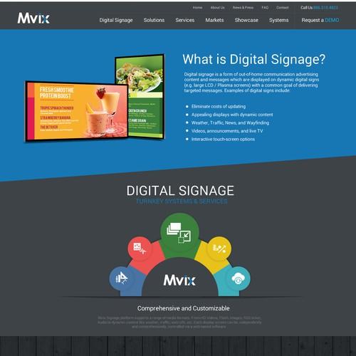 Redesign a contemporary site for a INC5000 Tech Company