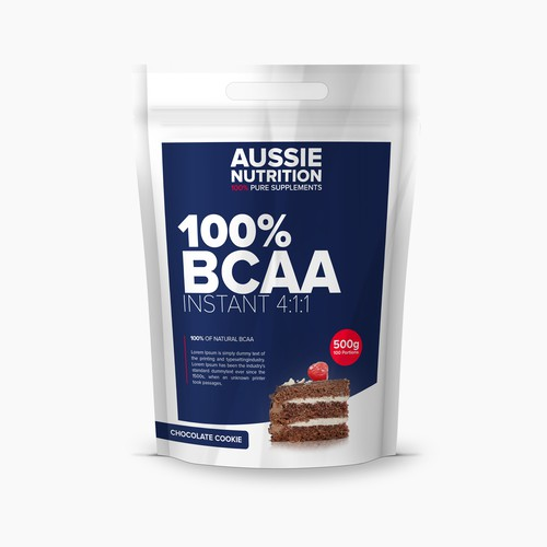 Aussie Nutrition supplement range needs new packaging!