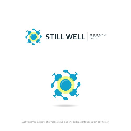 Logo design for a regenerative stem cell medicine center