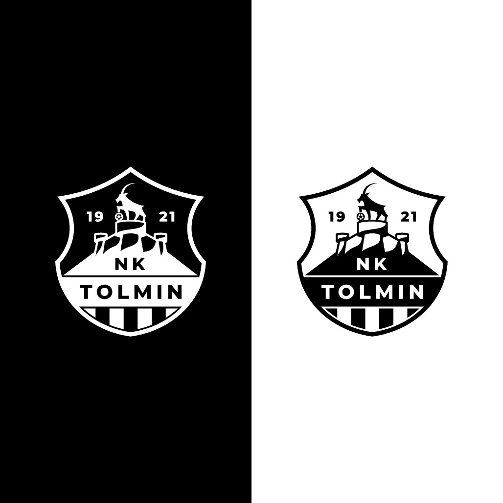 Tolmin football club new logo