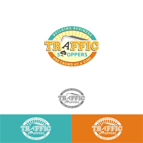 Interesting logo for a trade show entertainer (magician)