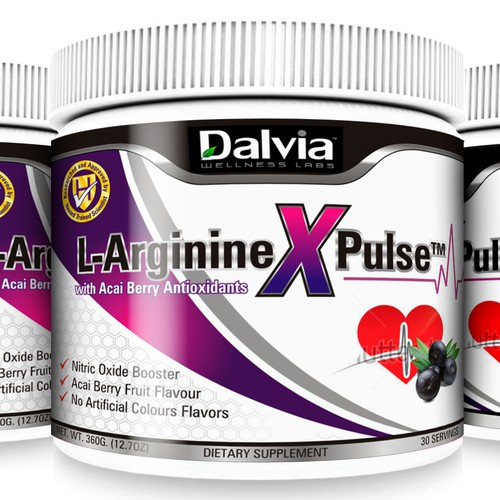 Label design for Dalvia Wellness Labs