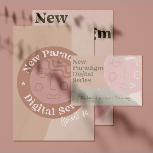 New Paradigm Digital Series Brand Identity Design