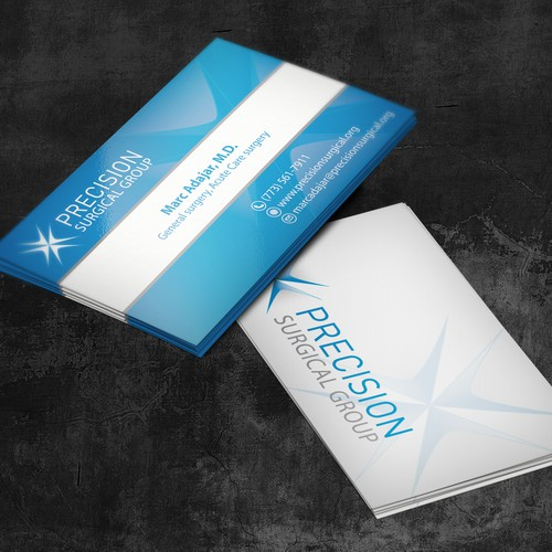 Help Precision Surgical Group with a new business card!