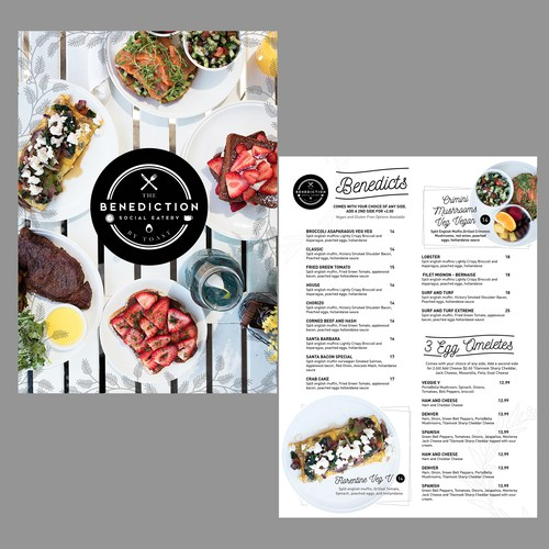 Breakfast Menu Design