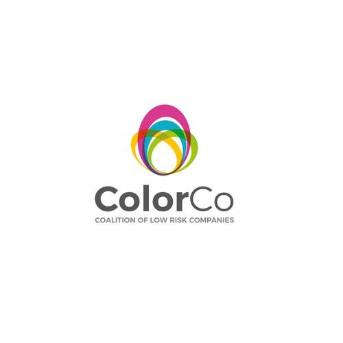 Creative logo for ColorCo
