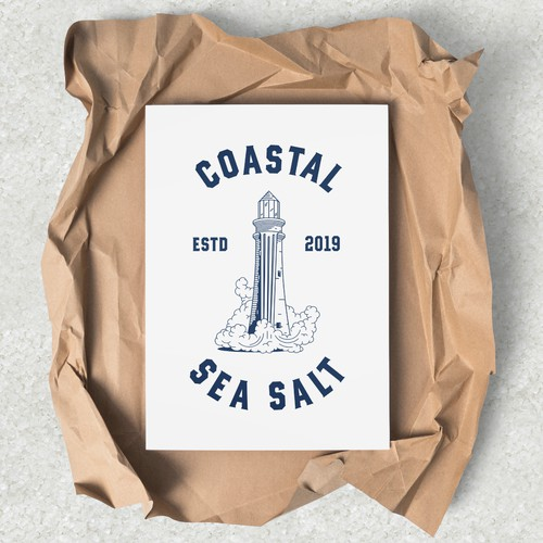 Coastal Sea Salt / logo