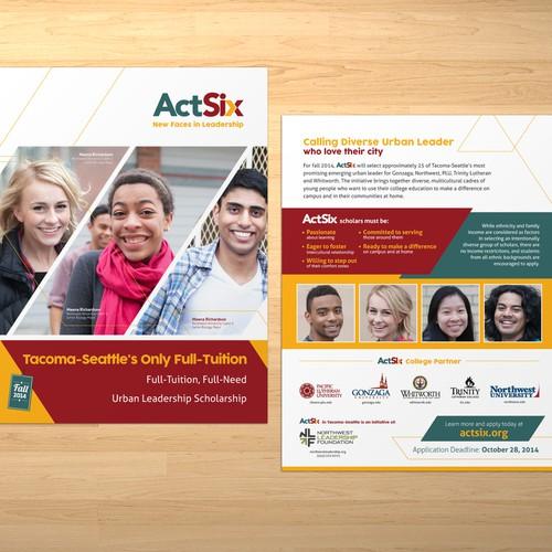 Brochure for ActSix