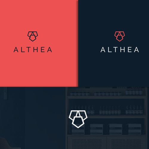 Logo design for Althea.