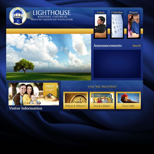 High Quality Logo Needed for Lighthouse Baptist Church Web Site
