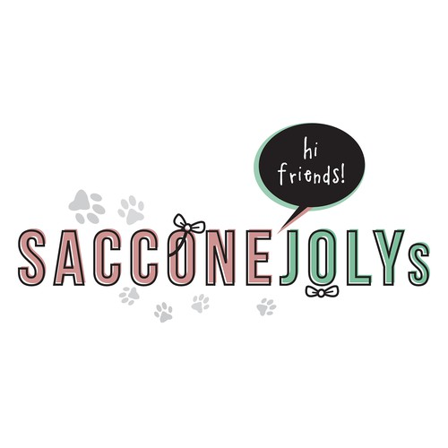 Whimsical design for Sacconejoly's Youtube channel