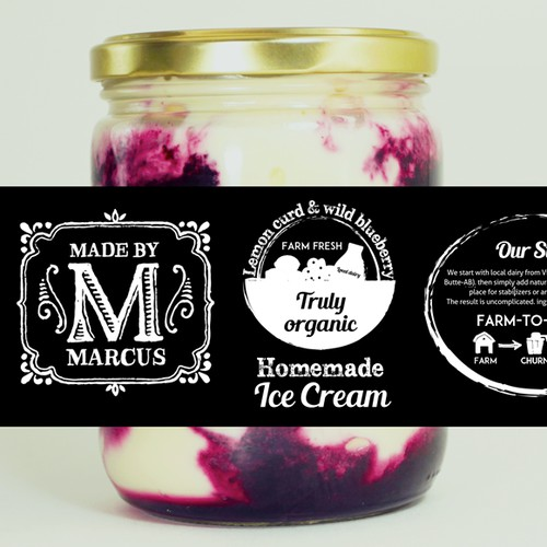 """""""Farm-to-fork"""" label for local ice cream producer"""