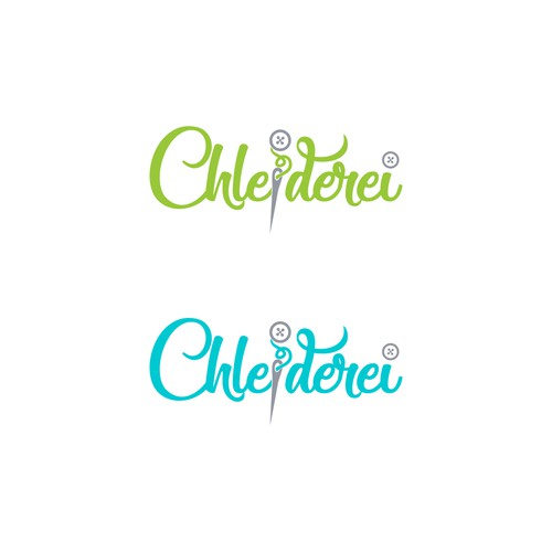 Logo and brand identity for Chleiderei