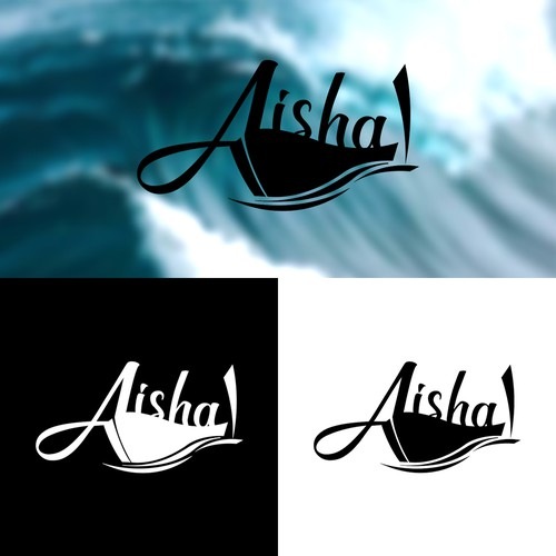 Logo Concept for Sports Fishing Boat