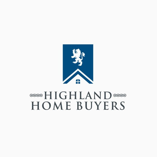 Create a logo for real estate investor with Scottish heritage (we buy houses)