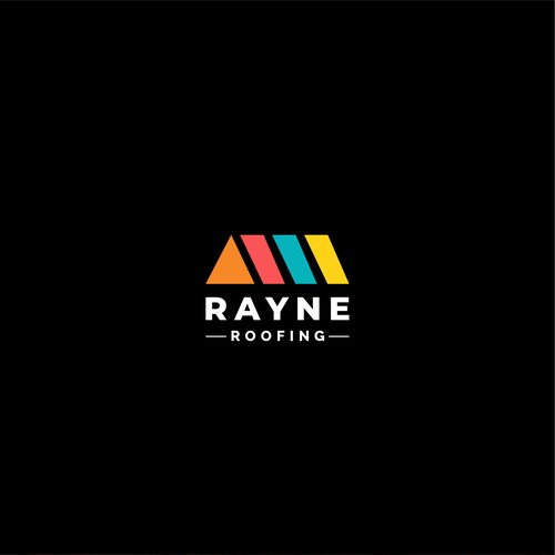 strong logo for Roofing company