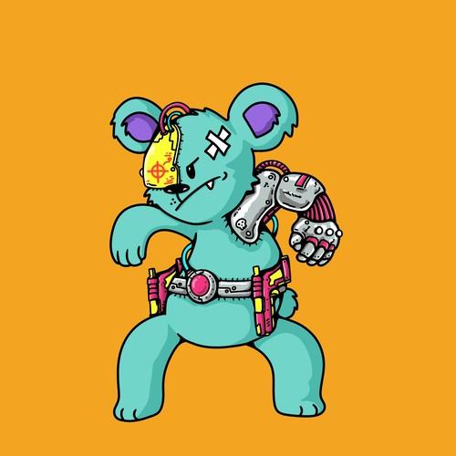 Cyborg koala