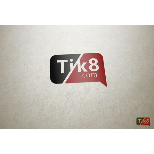 Create an innovative logo for ticket sale website Tik8.com
