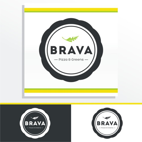 logo for Brava Pizza & Greens