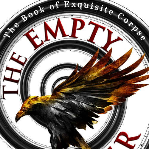 Book cover design - The Empty Danger by author Anna Tizard