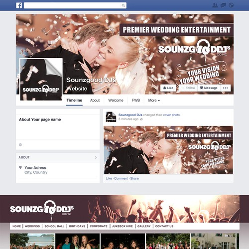 facebook封面为sounzgooddjs