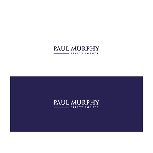 Bold Logo concept for Paul Murphy