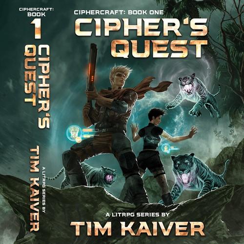 Entry for Tim Kaiver's LitRPG Novel Cover