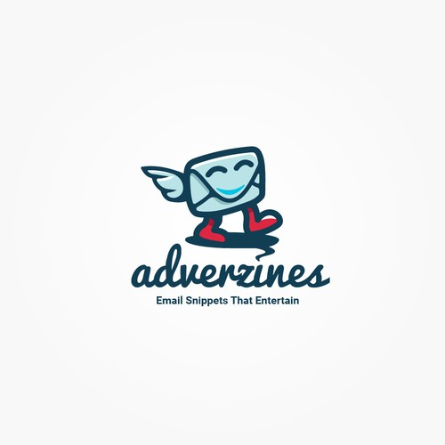 Fun whimsical logo for email newsletter site