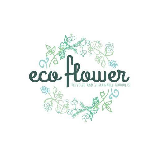 Sustainable/Eco Florist Logo