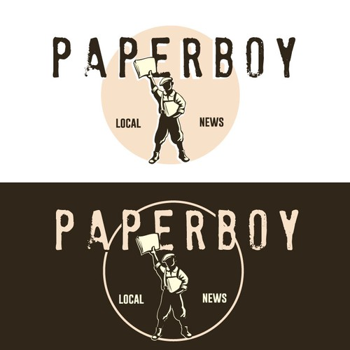 create a paperboy from the 30-50´ties - vintage style. For inspiration - look at joe and the juice