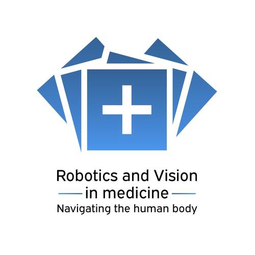 Logo for medical robotics company