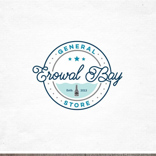 Simple Classic logo for Erowal Bay