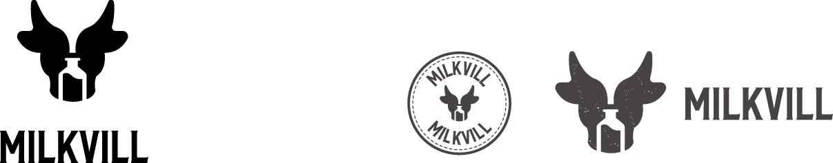 Logo for Milkvill company