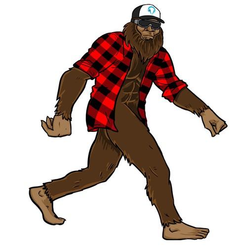 Cool Sasquatch (bigfoot)