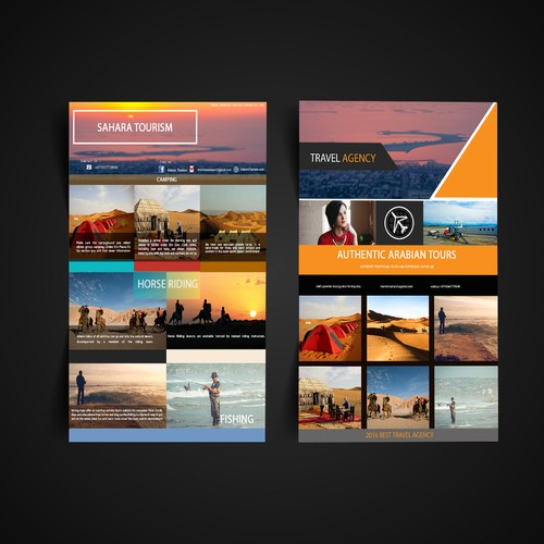 bussines card travel agency
