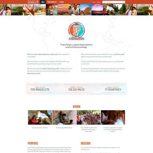 Travel/Surf/Social Wordpress Site needs KILLER redesign!