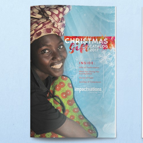 Colorful Catalog for Nonprofit