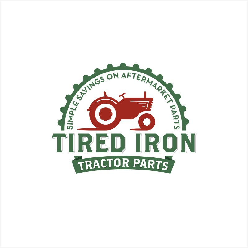 New logo wanted for Tired Iron Tractor Parts