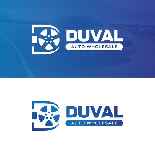 Logo Concept for Duval Auto Wholesale