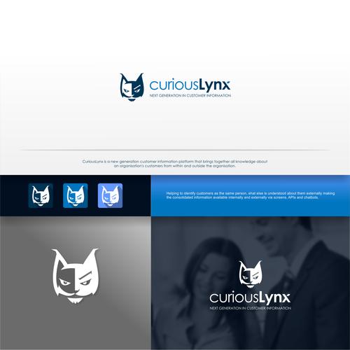 Logo for curious Lynx, customer information platform