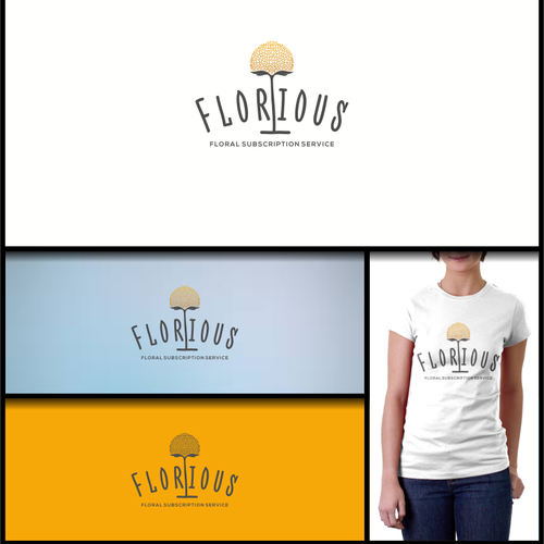 Logo design and Brand Identity Pack for Florious