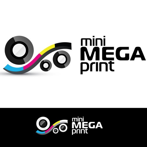 495$ - Inspired designers wanted for a web-to-print company logo!