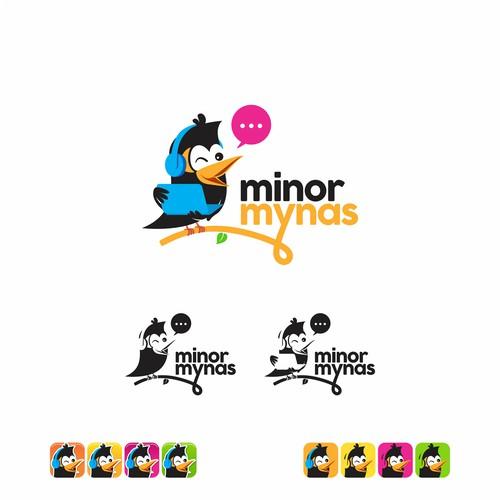Logo for Children Language Learning Website